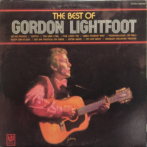 Gordon Lightfoot - The Best Of Gordon Lightfoot Album Cover
