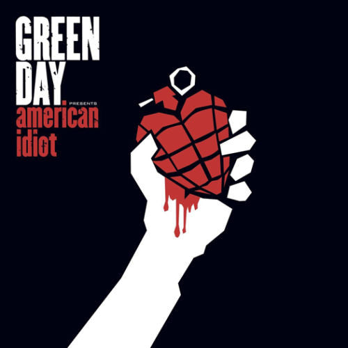 Green Day - American Idiot Album Cover