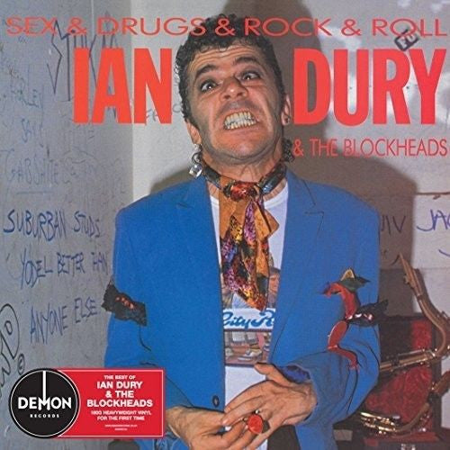 Ian Dury & The Blockheads - Sex & Drugs & Rock & Roll Album Cover