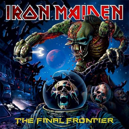 Iron Maiden - The Final Frontier Album Cover