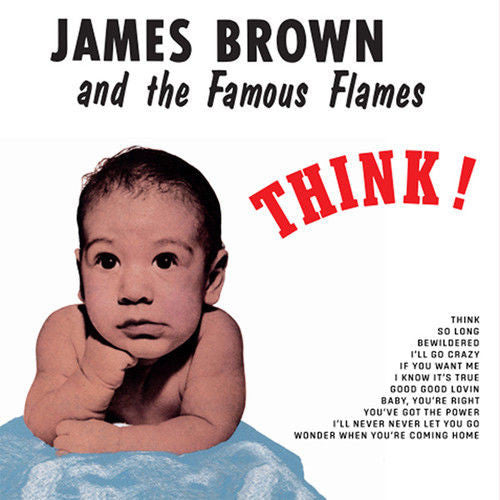 James Brown and The Famous Flames - Think! Album Cover