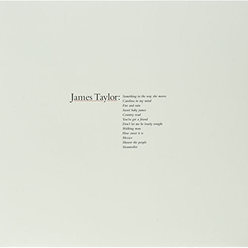 James Taylor - Greatest Hits Album Cover