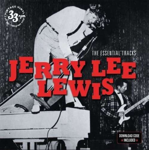 Jerry Lee Lewis - The Essential Tracks Album Cover