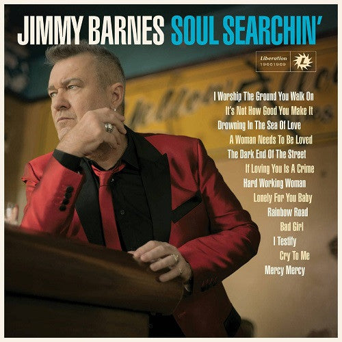Jimmy Barnes - Soul Searchin' Album Cover