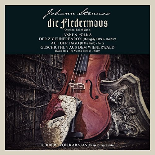 Johann Strauss - Die Fledermaus Album Cover