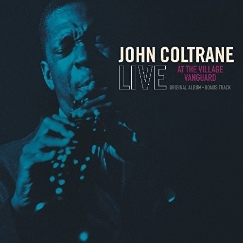 John Coltrane - Live At The Village Vanguard Album Cover