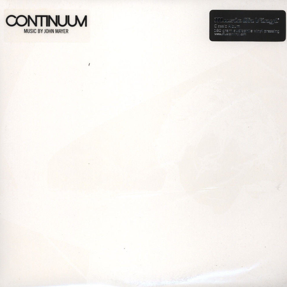 John Mayer - Continuum Album Cover