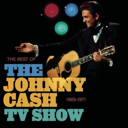 Johnny Cash - The Best Of The Johnny Cash TV Show Album Cover