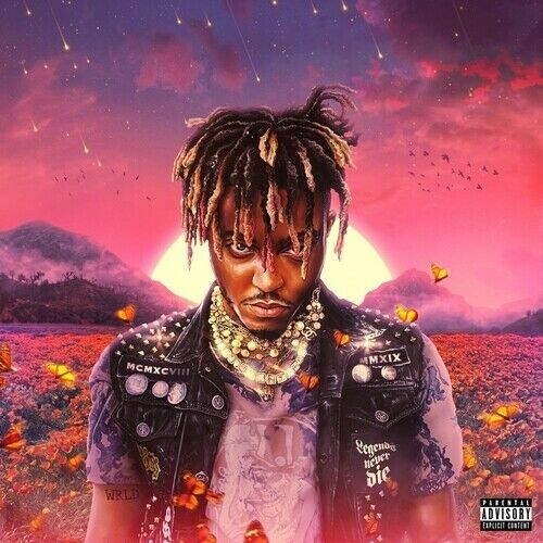 Juice WRLD - Legends Never Die Album Cover