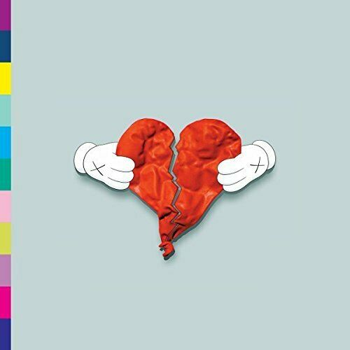 Kanye West - 808s & Heartbreak Album Cover