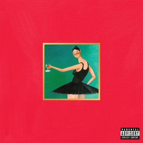 Kanye West - My Beautiful Dark Twisted Fantasy Album Cover