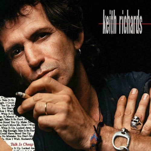 Keith Richards - Talk Is Cheap Album Cover