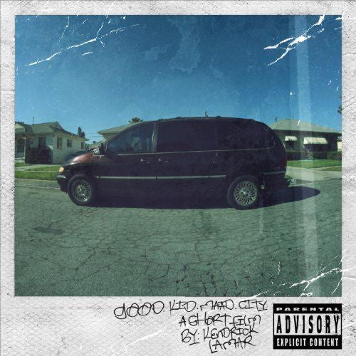 Kendrick Lamar - Good Kid, M.A.A.D City Album Cover