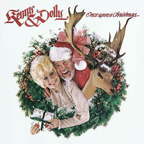 Kenny & Dolly - Once Upon A Christmas Album Cover