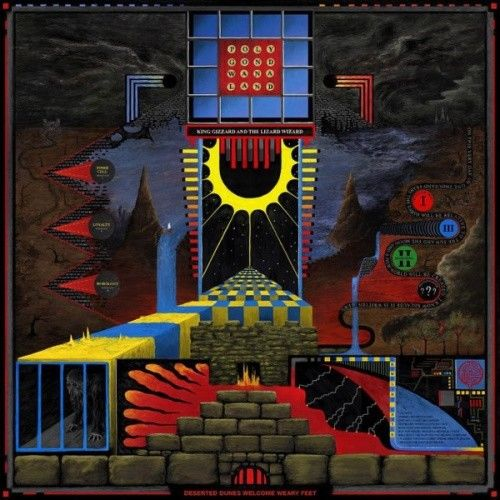 King Gizzard & The Lizard Wizard - Polygondwanaland Album Cover