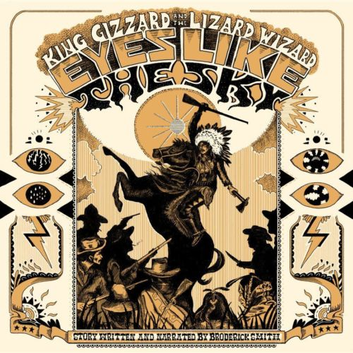 King Gizzard & The Lizard Wizard - Eyes Like The Sky Album Cover