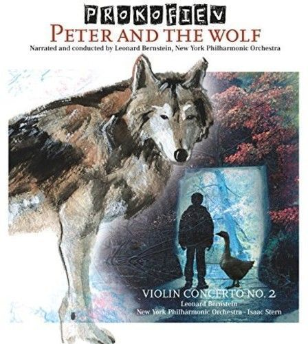 Prokofiev - Peter And The Wolf Album Cover