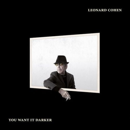 Leonard Cohen - You Want It Darker Album Cover