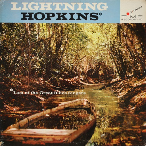 Lightning Hopkins - Last Of The Great Blues Singers Album Cover