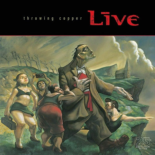 Live - Throwing Copper 25th Anniversary Edition Album Cover