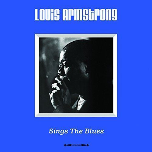 Louis Armstrong - Sings The Blues Album Cover