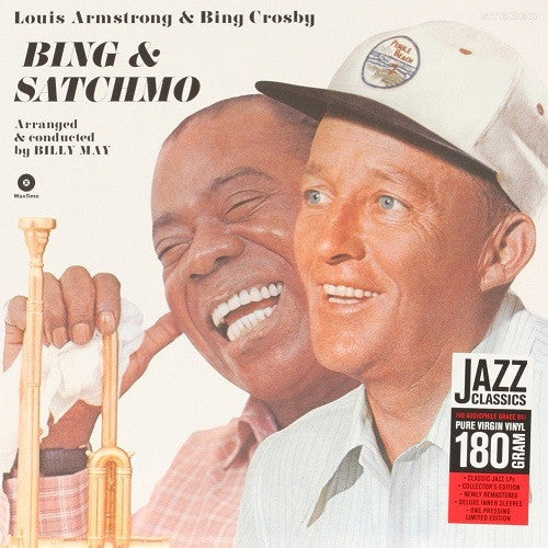 Louis Armstrong & Bing Crosby - Bing & Satchmo Album Cover