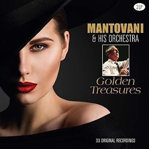 Mantovani & His Orchestra - Golden Treasures Album Cover
