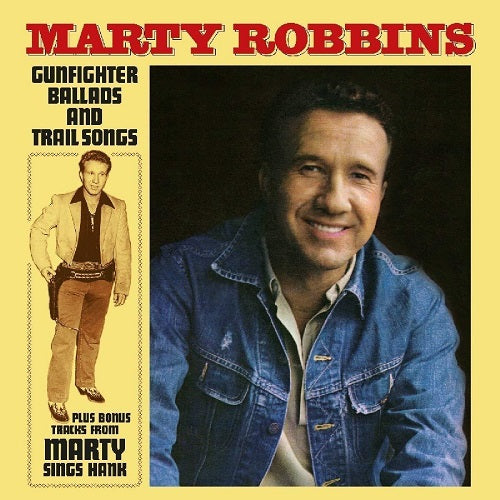 Marty Robbins - Gunfighter Ballads And Trail Songs Album Cover