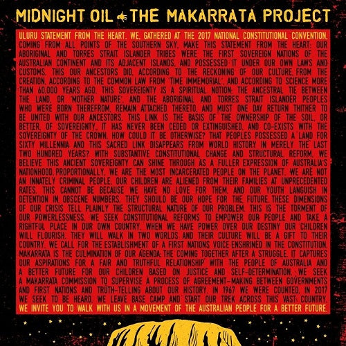 Midnight Oil - The Makarrata Project Album Cover