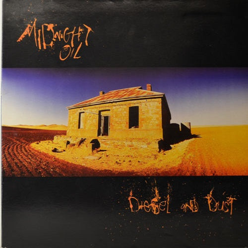 Midnight Oil - Diesel And Dust Album Cover