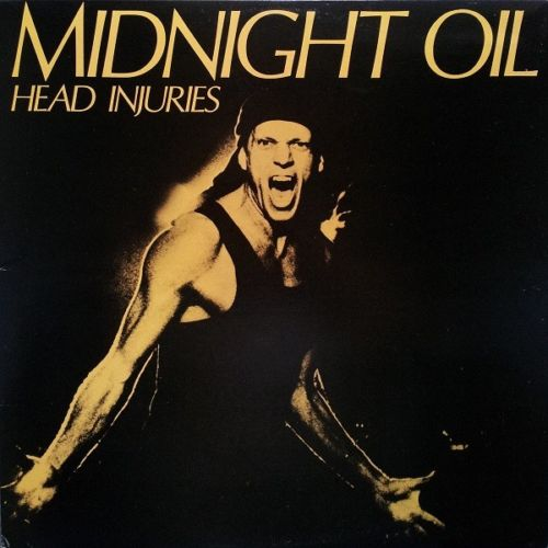 Midnight Oil - Head Injuries Album Cover