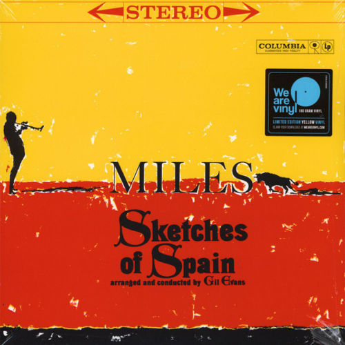 Miles Davis - Sketches Of Spain Album Cover