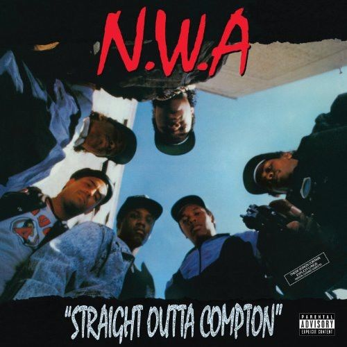 "N.W.A - ""Straight Outta Compton"" Album Cover"
