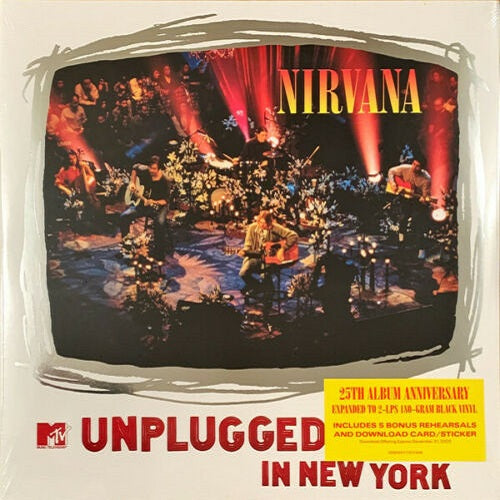 Nirvana - MTV Unplugged In New York (25th Album Anniversary) Album Cover