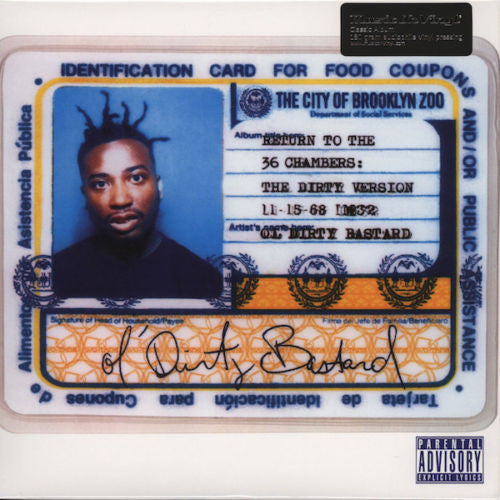 Ol' Dirty Bastard - Return To The 36 Chambers: The Dirty Version Album Cover