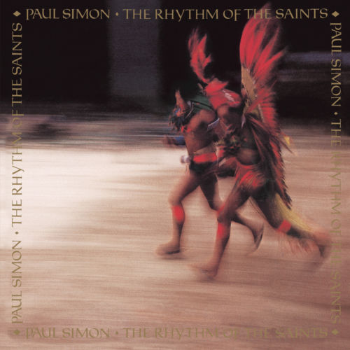Paul Simon - The Rhythm Of The Saints Album Cover