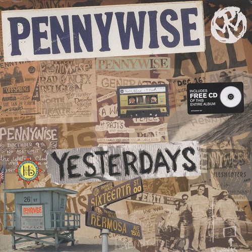 Pennywise - Yesterdays Album Cover