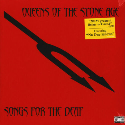 Queens Of The Stone Age - Songs For The Deaf Album Cover