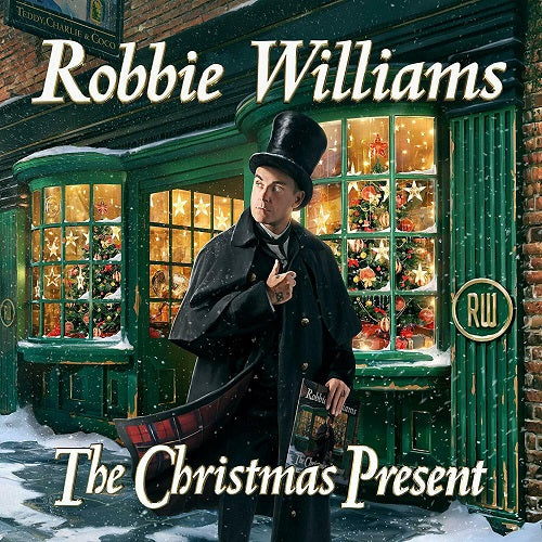 Robbie Williams - The Christmas Present Album Cover