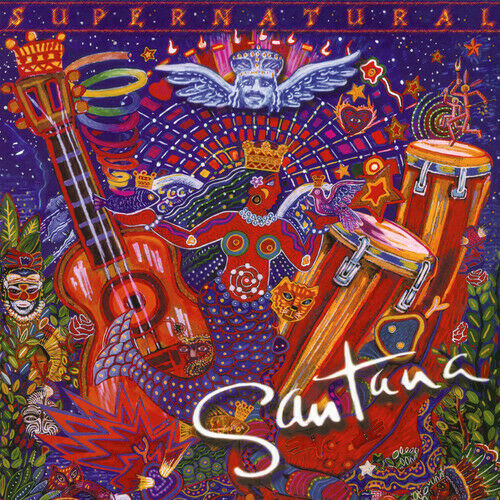 Santana - Supernatural Album Cover