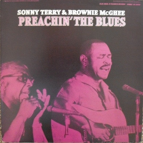 Sonny Terry & Brownie McGee - Preachin' The Blues Album Cover