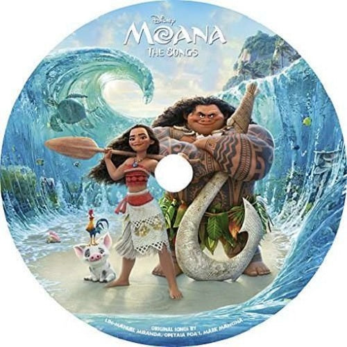 Soundtrack - Moana (The Songs) (Picture Vinyl)