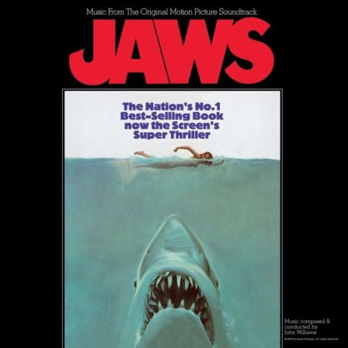 Soundtrack - Jaws Album Cover