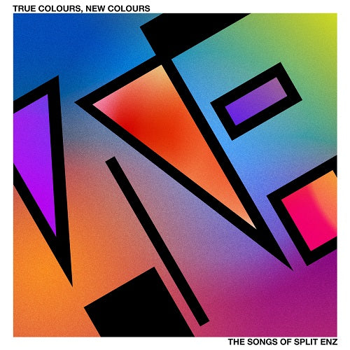 Various Artists - The Songs Of Split Enz: True Colours, New Colours Album Cover