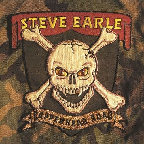 Steve Earle - Copperhead Road Album Cover