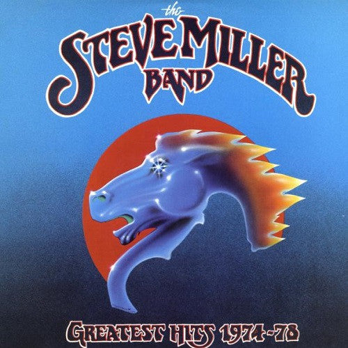 The Steve Miller Band - Greatest Hits 1974-78 Album Cover