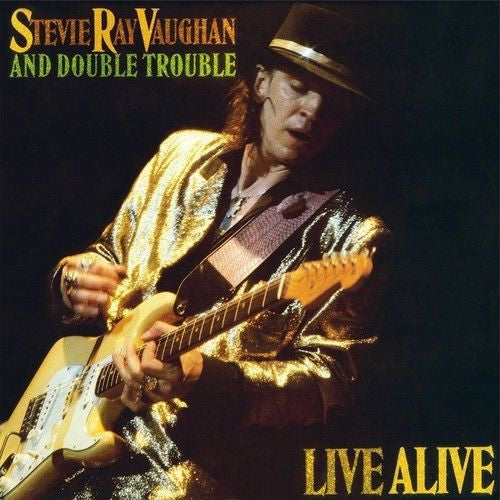 Stevie Ray Vaughan And Double Trouble - Live Alive Album Cover