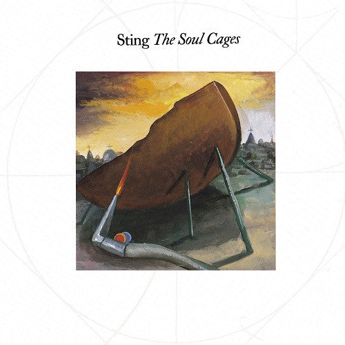 Sting - The Soul Cages Album Cover