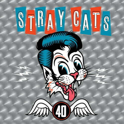 Stray Cats - 40 Album Cover