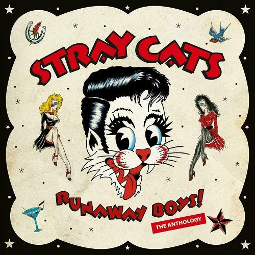 Stray Cats - Runaway Boys! The Anthology Album Cover